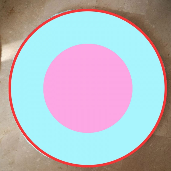 2 Círculos + Borde