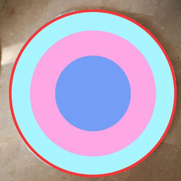 3 Círculos + Borde